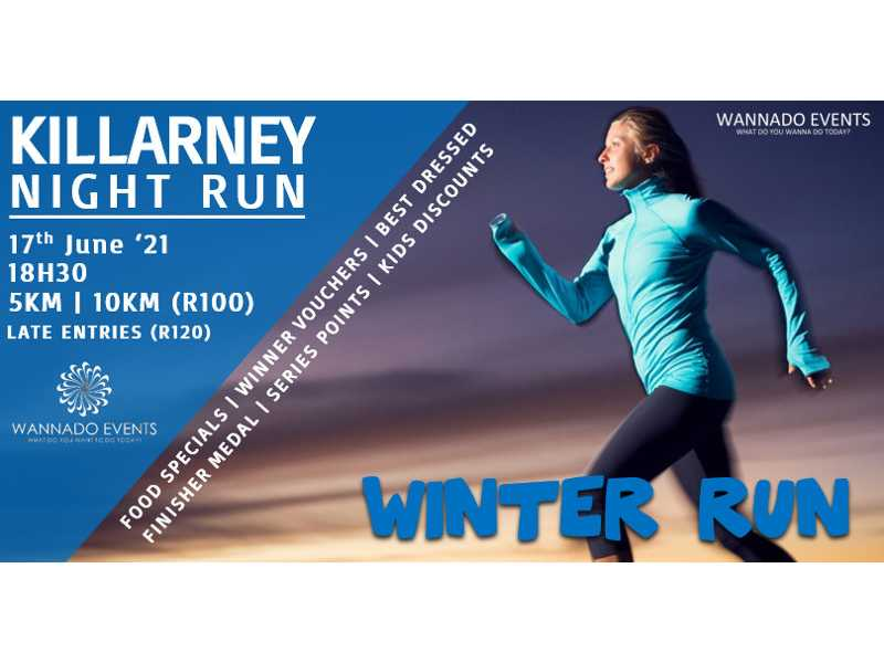 Killarney Night Run – Winter Series